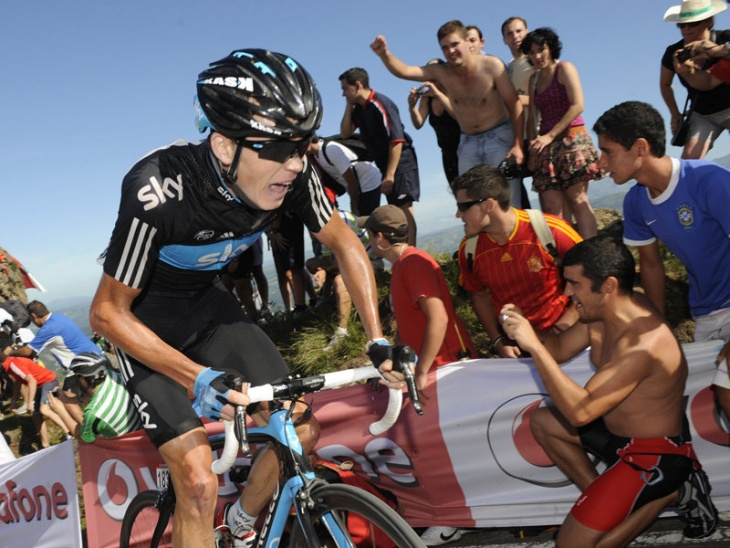 ...He put daylight between himself and Cobo: photo: Sky Pro Cycling Team