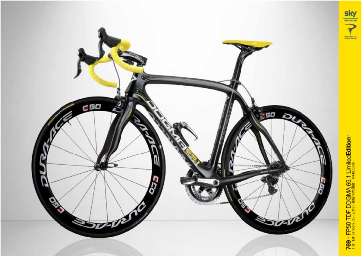 769-FP50 TDF DOGMA 65.1 Limited Edition \449,000-(フレームセット)