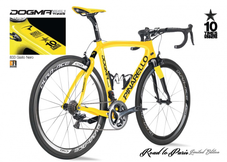 DOGMA 65.1 THINK2 Road to Paris Limited Edition 833 イエローブラック