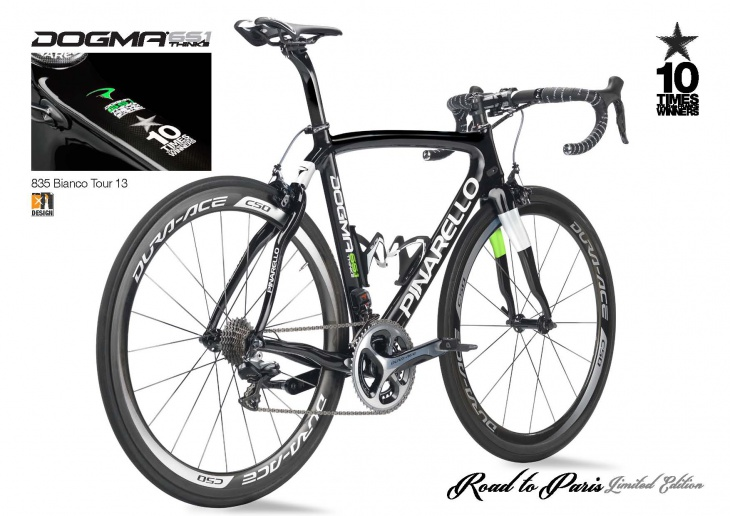 DOGMA 65.1 THINK2 Road to Paris Limited Edition 835 ホワイト 2013