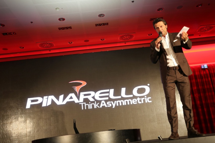 PINARELLO 2016 Presentation at Treviso Italy