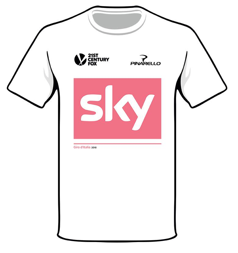 Limited Edition Team Sky Giro d'Italia Celebration T-Shirt