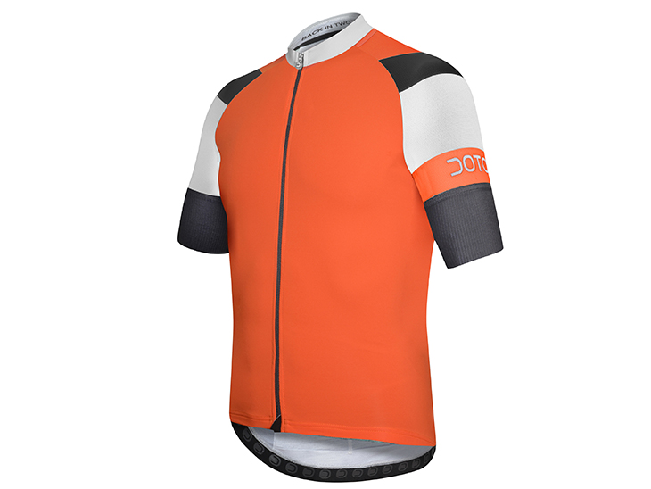 Oxygen Jersey orange-white-black