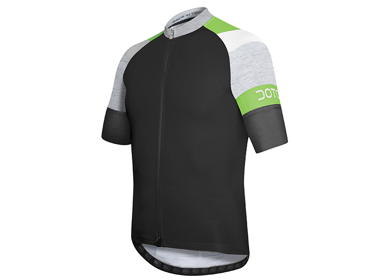 Oxygen Jersey black-grey-green
