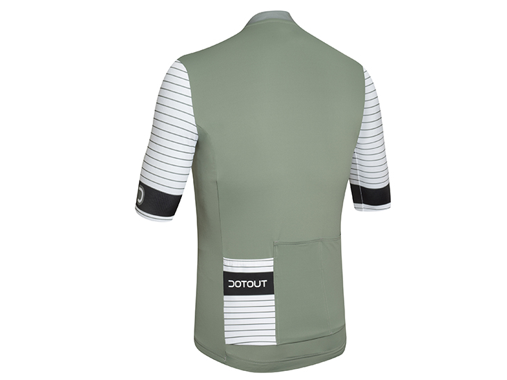 Rival Jersey green-white-black back