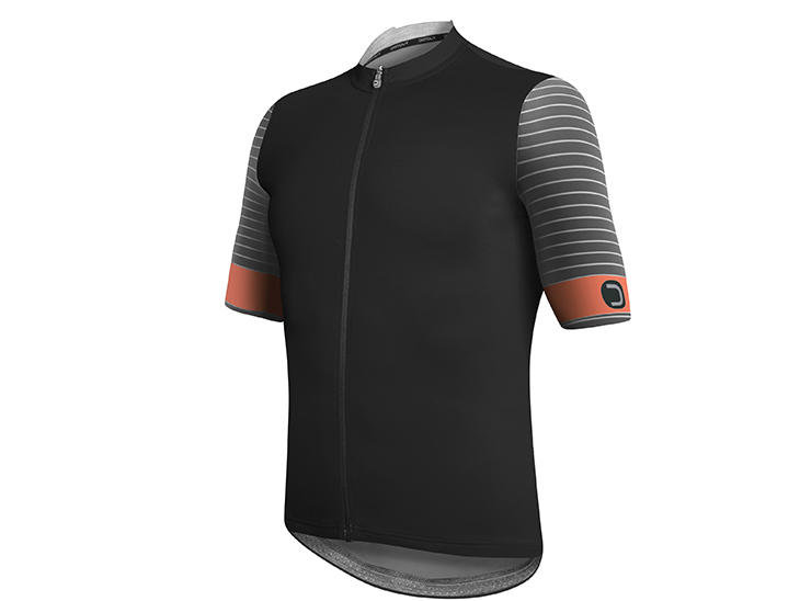 Rival Jersey black-dark gray-orange