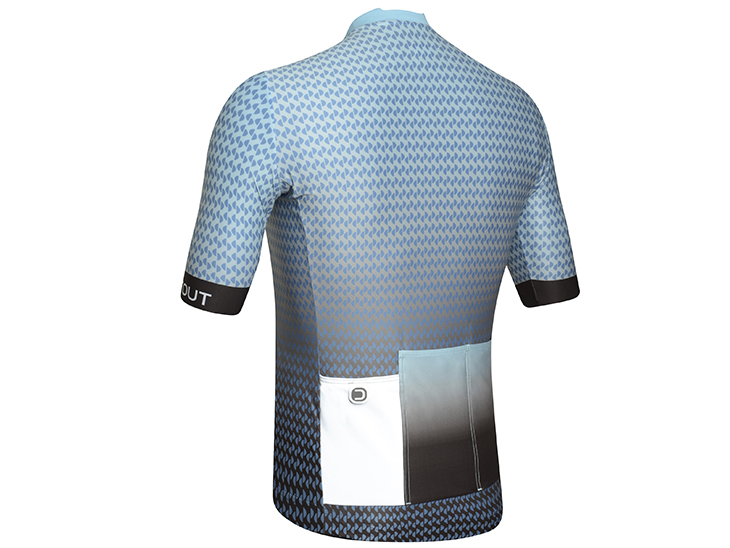 Live Jersey light blue-black back