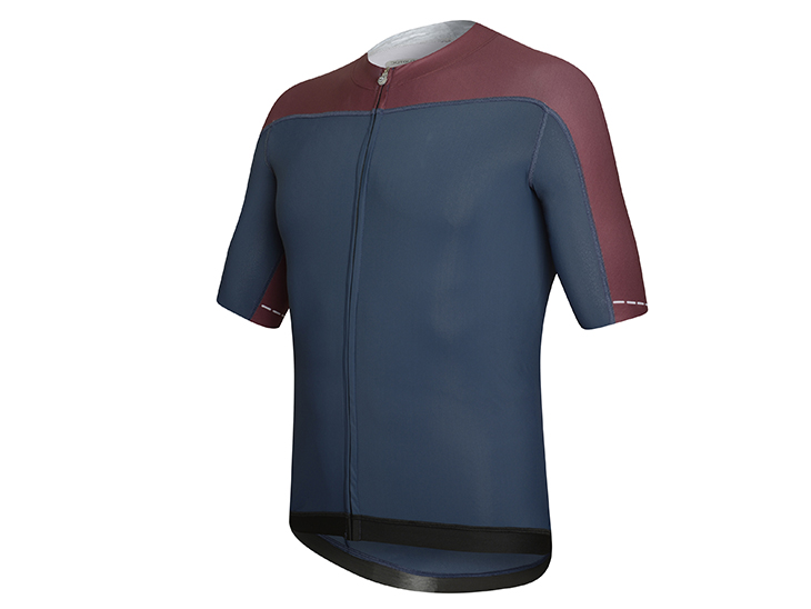 Skin Jersey blue-bordeaux