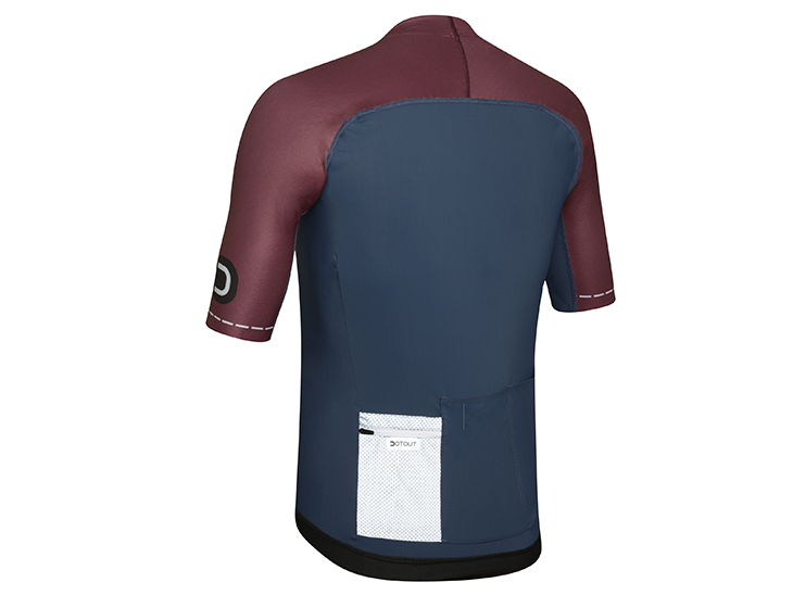 Skin Jersey blue-bordeaux back