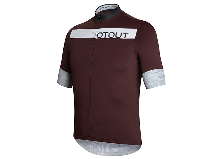 Horizion Jersey bordeaux-black