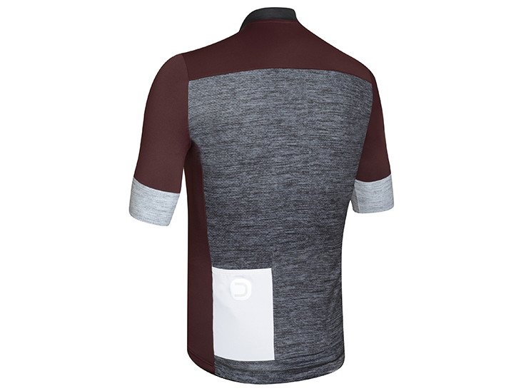 Horizion Jersey bordeaux-black back