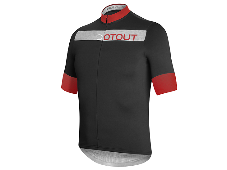 Horizion Jersey black-red