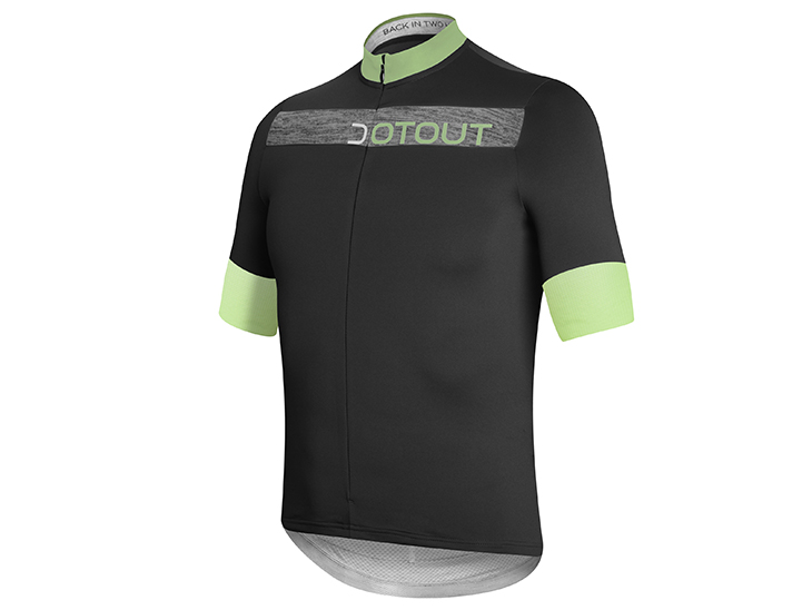 Horizion Jersey black-lime