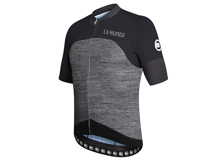Le Nuage Jersey dark grey-black