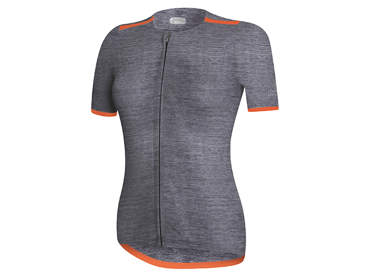 Elite W Jersey Melange Dark Grey
