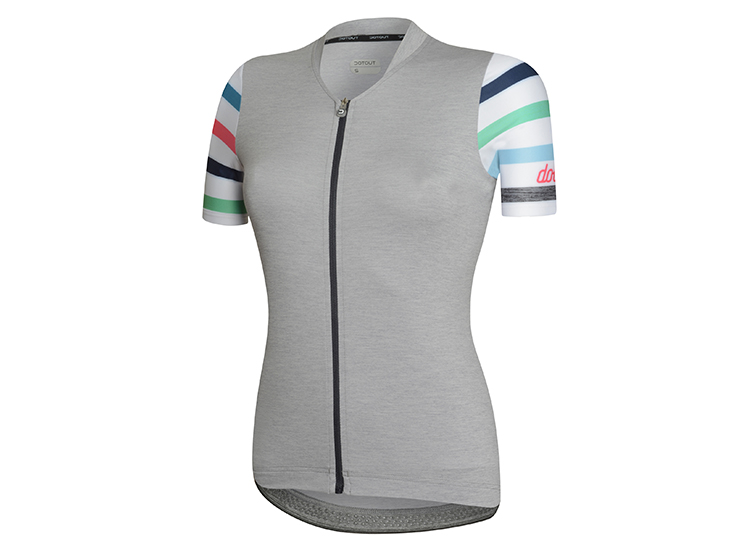 Touch W Jersey Melange Light Grey White