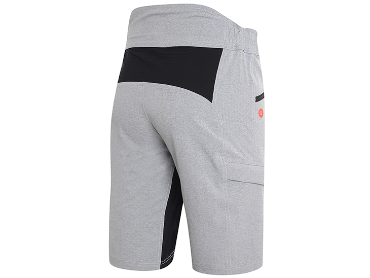 Phantom Pant Melange Light Grey Back