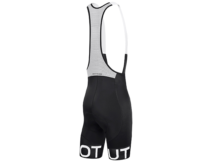 Team Bib Short Black Black Back