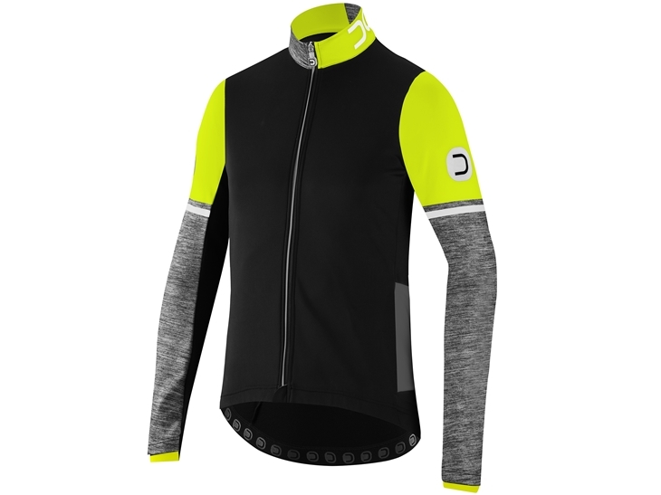 Combat Jacket Black Fluo Yellow