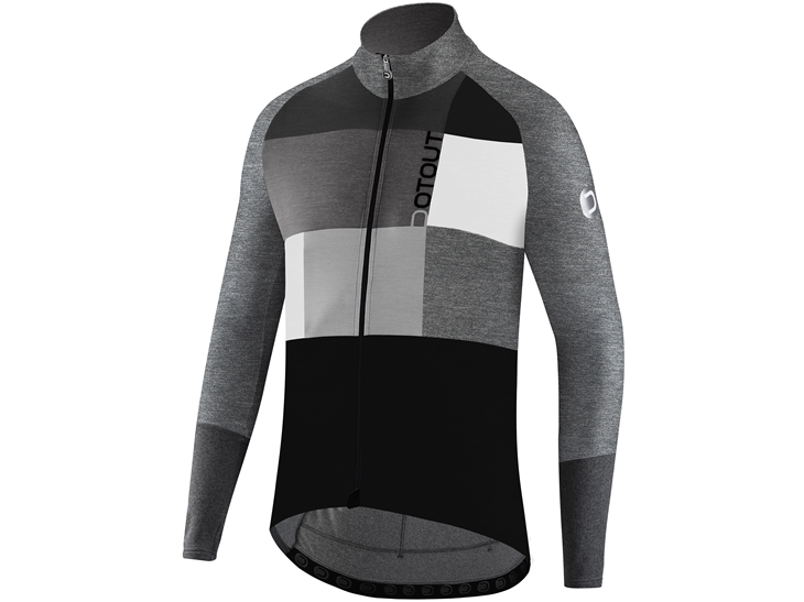 Fanatica Wool Jersey Melange Light Grey
