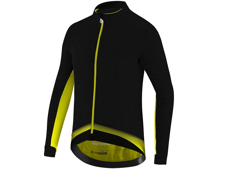 Le Maillot Jacket Black Fluo Yellow
