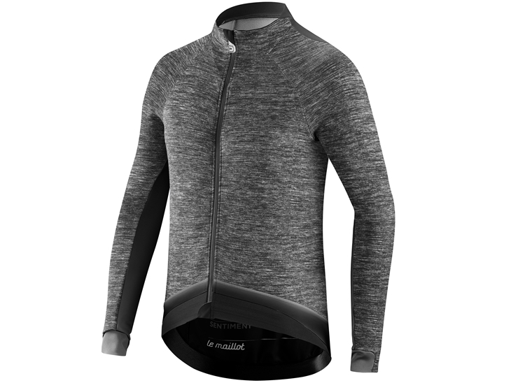 Le Maillot Jacket Dark Grey Black