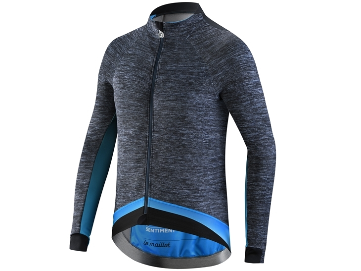 Le Maillot Jacket Dark Grey China Blue