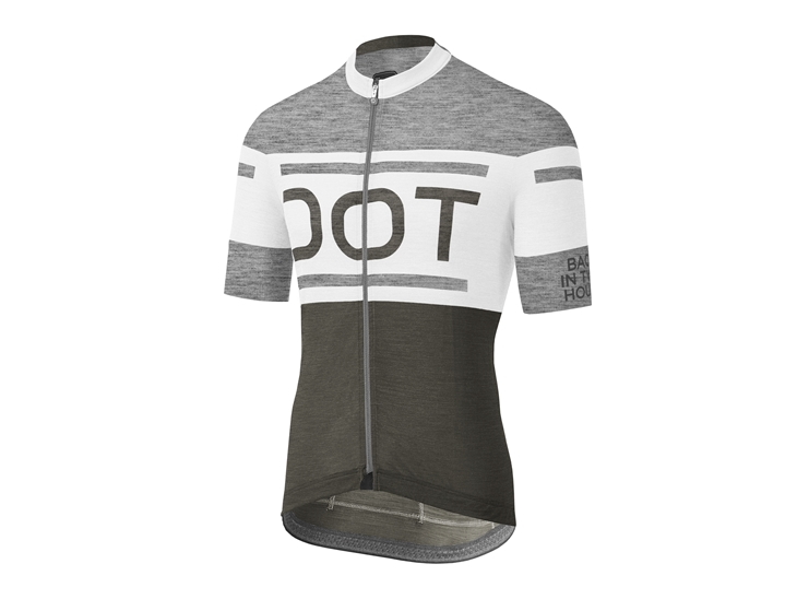 Academy Jersey grey-white-deep green