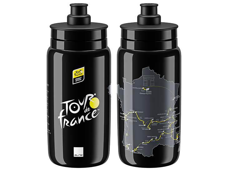 FLY TOUR DE FRANCE Map Black 550ml